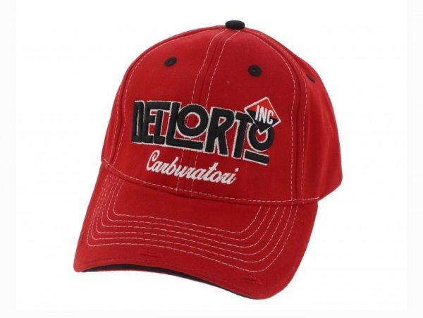Cappellino con visiera -DELLORTO, Reparto corse- - rosso
