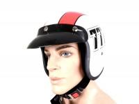 Helmet -BANDIT 777 Jet- white/red - XXL (63cm)