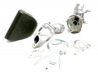 Kit carburateur -POLINI 2 goujons, 19mm Dellorto SHB, boite à clapets- Vespa V50, PV, ET3