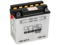 Batterie -Standard SCEED 42 Energy- 12N7-4A - 12V, 7Ah - 134x76x137mm (inkl. Säurepack)
