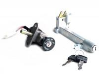 Lock set -MBK/YAMAHA- Yamaha BW NG (2003-), MBK Booster NG (2003-)