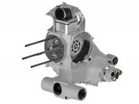 Engine casing -MALOSSI VR-One, reed valve intake- Vespa PX80, PX125, PX150, LML Star/Stella 125/150 Elestart