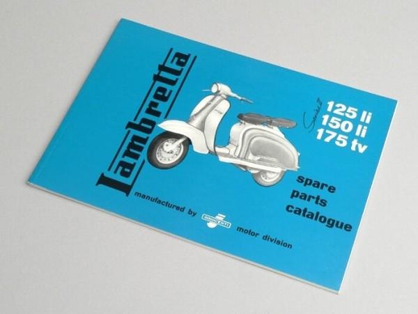Catalogue des pièces de rechange -LAMBRETTA- LI & TV série 2-