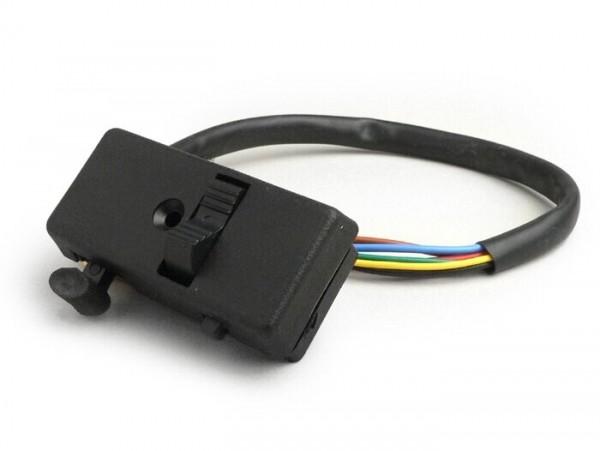 Llave de luces -GRABOR- Vespa V50 Special - modelos con intermitentes en los extremos del manillar