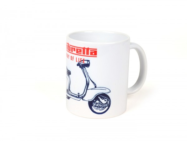 Tasse - Becher -LAMBRETTA - A way of life - rot