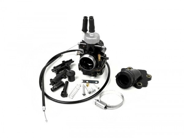 Carburettor kit -BGM Pro 19mm Racing- Minarelli 50 cc 2-stroke (horizontal) -