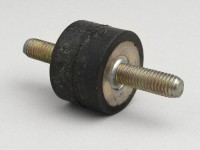 Exhaust rubber mounting -POLINI- stud M8/stud M8
