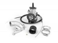 Kit carburador -MALOSSI 28mm Dellorto PHBH BS, distribuidor giratorio- Vespa PX, Sprint, Rally180 (VSD1T), Rally200 (VSE1T)