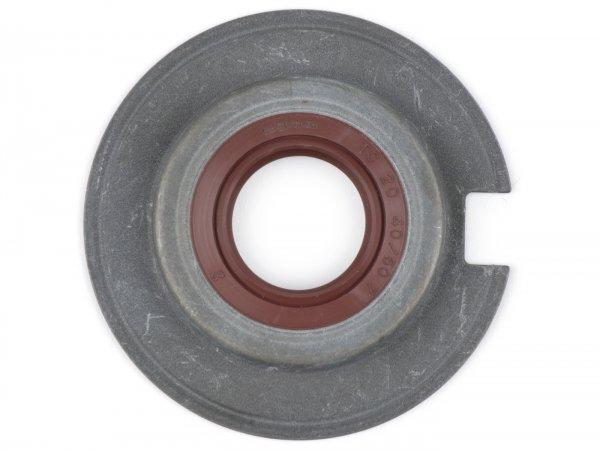 Wellendichtring SB 20x40/60x7mm -BGM PRO FKM/Viton® (E10 beständig)- verwendet für Kurbelwelle Lichtmaschinenseite Vespa Largeframe (-1976) Sprint, Super, TS, GT125, GTR125, VNA, VNB, VBA, VBB, Wideframe (zusätzlich Kurbelwelle Antriebsseite) VM, VN,