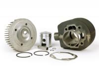 Cylinder -SCOOTER CENTER Conversion Vespa PX80 to 125 cc- Vespa PX80 / PX80 Elestart