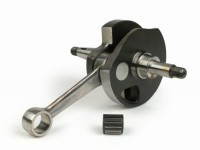 Crankshaft -MAZZUCCHELLI Racing (rotary valve) K2D 60mm stroke- Vespa PX125, PX150