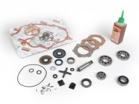 Engine repair kit -VESPA- 125cc/150cc 2 tranfer ports - Vespa Sprint150 (VLB1T), GT125 (VNL2T), GL150 (VLA1T), Super, VNB5T, VNB6T, VBB1T (1736-)