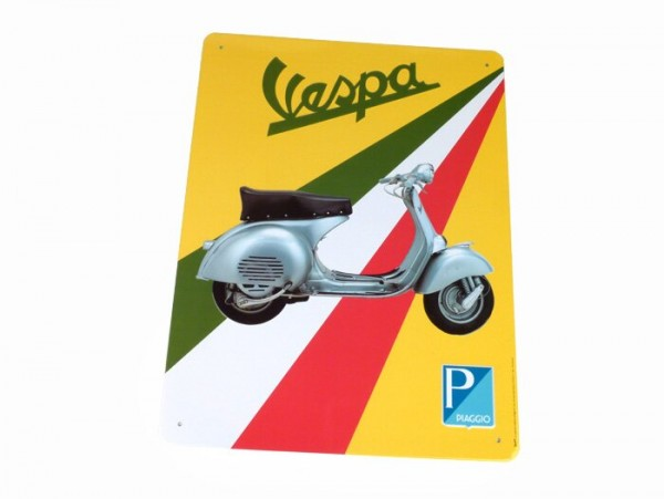 Reklameschild -RETRO- Blech Vespa GS 150 (VS1T)