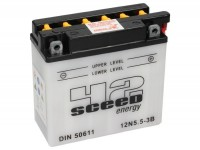 Batterie -Standard SCEED 42 Energy- 12N5,5-3B - 12V, 6Ah - 131x61x138mm (inkl. Säurepack)