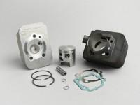 Zylinder -MALOSSI 75 ccm Sport- Piaggio Ciao (Kolbenbolzen = Ø 10mm) - Motorgehäuse muß ausgespindelt werden