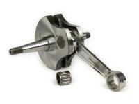 Crankshaft -PINASCO Racing clinder intake, stroke 57mm, conrod 10mm- Vespa 150cc VB1T, VGL1T, VL1, VL2, VL3