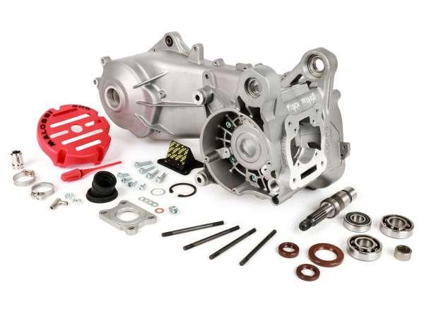 Motorgehäuse -MALOSSI C-One- YAMAHA/MINARELLI lang 50ccm2T AC/LC ohne E-Start