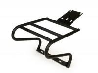 Topcase support rear -FA ITALIA- Vespa PX80, PX125, PX150, PX200 - black