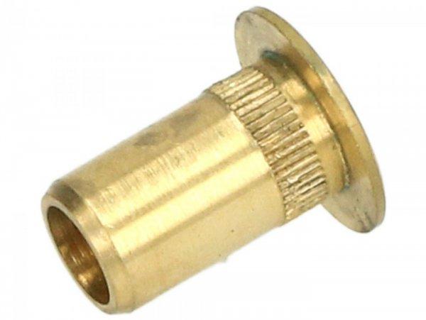 Bushing for air filter box Øa = 15mm, Øi =9mm, h=17mm -PIAGGIO-