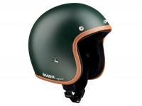Helmet -BANDIT Jet Premium Line- British Racing Green - XS (53-54cm)