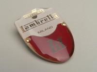 Badge de tablier -LAMBRETTA- Lambretta LD - LD 125 (jusqu'à 1956)