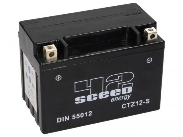 Batterie -Gel SCEED 42 Energy- CTZ12-S - 12V, 11Ah - 150x87x110mm