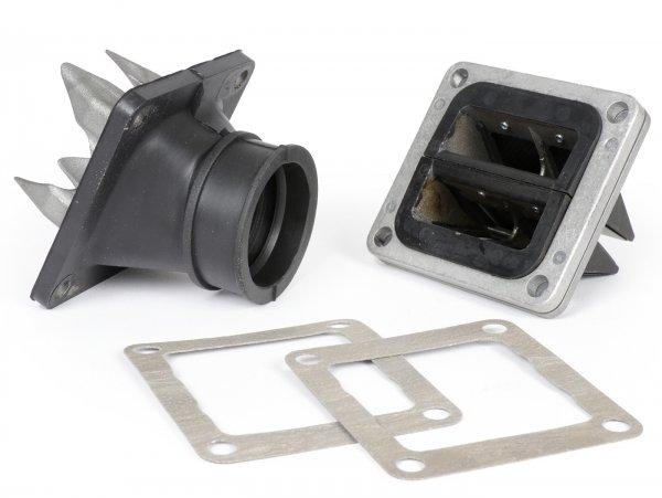 Membranblock -ITALKIT Doble Prisma- KTM 85 mit leichten Modifikationen auch passend für Yamaha RD350 YPVS