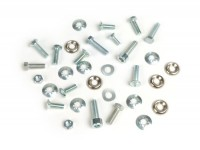 Kit tornillos para cubredirección y guardabarros -LAMBRETTA- Lambretta LI (series 1-2), TV (series 1-2)