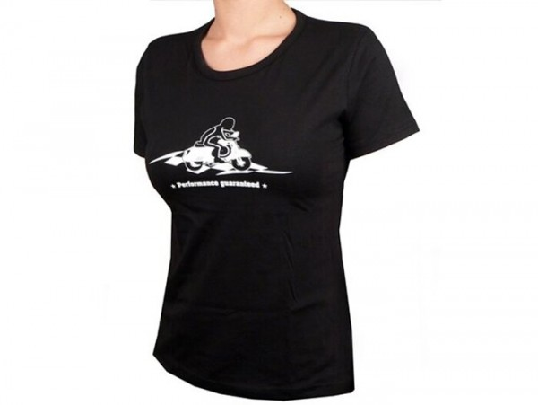 T-shirt -Vespa Performance Guaranteed- femme - S (36)
