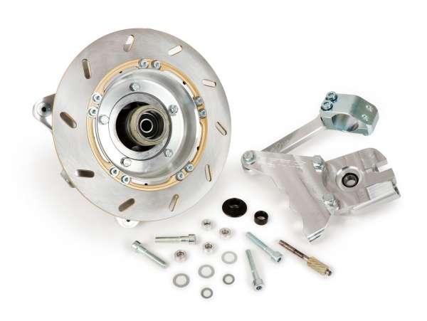 Disc brake (pre-assembled) -BGM PRO Anti-Dive- Lambretta LI, LIS, SX, TV, DL, GP - w/o caliper
