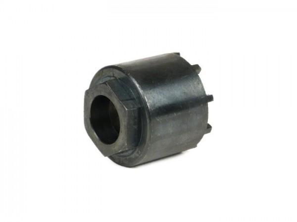 Herramienta desmontaje tuerca almenada rodamiento rueda trasera -VESPA Ø=49mm, 9 dientes- Vespa VNA1T, VNA2T, VNB1T, VNB2T, VNB3T, VNB4T, VNB6T, VBA1T, VBA2T, VBB1T, VBB2T, Vespa Super 125 (VNC1T), Super 150 (VNB1T, -153261), GL (VLA1T), GT (VNL1T),