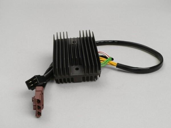 Spannungsregler -4+3-Pin- Piaggio Quasar/HPE 250-300 ccm, Master 400-500 ccm