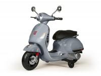 Moto eléctrica para niños -Vespa GTS- gris