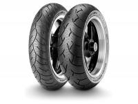 Tyres -METZELER FeelFree Wintec M+S- 100/80-16 inch 50P TL, front