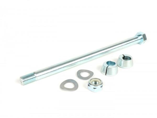Kit tornillo eje motor, tuercas y conos eje motor (excéntrico) incl. -CASA PERFORMANCE- Lambretta LI (series 1-3), LIS, SX, TV (serie 3), DL, GP