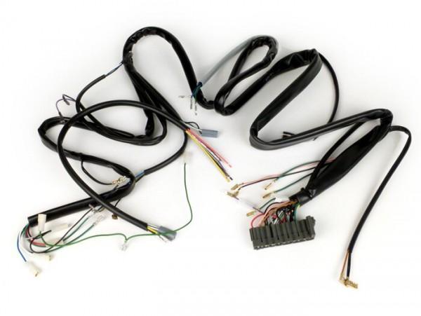 Kabelbaum -VESPA- Vespa PK 50 XL (V5X3T000001-V5X3T185557) - Modelle mit Blinker, Gepäckfach, elektronischer Zündung, ohne E-Starter
