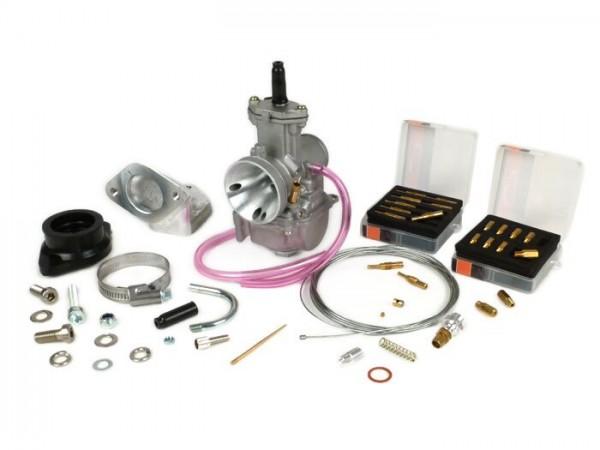 Carburettor kit -BGM PRO 195-225 cc- Lambretta LI, LIS, SX, TV (2nd series, 3rd series), DL, GP - Ø=24mm Polini