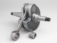 Crankshaft -RACING (for reed valve intake) 60mm stroke, flowed crankshaft- Vespa PX125, PX150