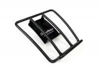 Rear rack -CLASSIC RACKS- Vespa GTS 125-300 (-2014), GTV (-2014), GTL, GT - matt black