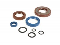 Oil seal set engine -CORTECO FKM- Vespa PK125 XL2, PK125 ETS - (Ø 24mm cone) - incl. O-rings