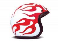 Helmet -DMD Jet Vintage- open face helmet, vintage - Hell - M (57-58cm)