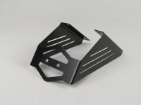 Number plate holder -LENNES- Aprilia SR 50 R - stainless steel black