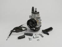 Carburator kit -POLINI 19mm Dellorto PHBG- Minarelli 50 cc, Piaggio 50 cc 2-stroke - CS=23mm – APRILIA SR50 (Minarelli), YAMAHA Aerox (YQ50/L) 50, BWS 50, JOG50, JOG50RR, NEOS, SLIDER, SPY, VINO50, WHY50, ZEST50, ZUMA50, CPI ARAGON 50, Formula, GTR,