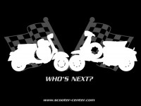 T-Shirt -Vespa Lambretta WHO´S NEXT- women - M (38)