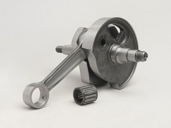 Cigüeñal -MAZZUCCHELLI Racing (válvula rotativa)- Vespa PV125, ET3 125, PK80 S, PK125 S (cono Ø=19mm)