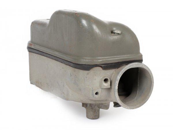 Caja del carburador incl. tapa (no preparada para la bomba de aceite) -PIAGGIO (NOS)- Vespa PX Lusso/EFL/Iris (1984-)
