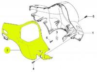 Speedo bezel -PIAGGIO- Vespa LX (ZAPC38, ZAPM44,ZAPM68)