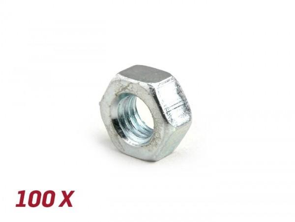 Nut -DIN 934- M7 - 100 pcs