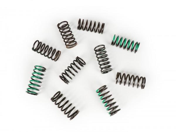 Kupplungsfeder -BGM PRO- Lambretta LI, LI S, SX. TV (Serie 2-3), DL/GP - weich (6,2 Windungen, K=4,7, grün) - 10 Stück