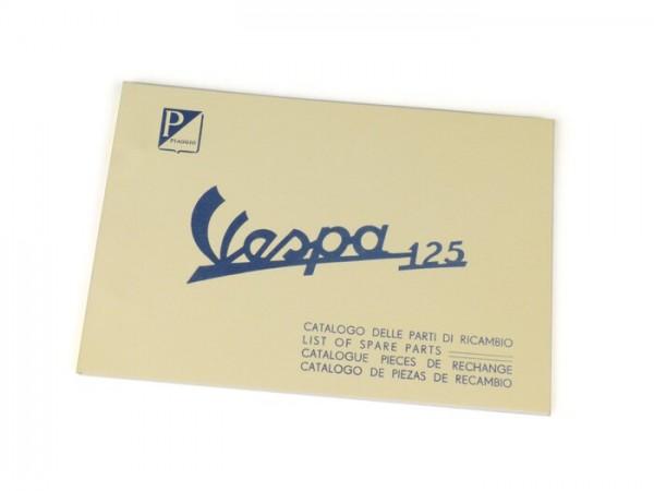Catalogue des pièces de rechange -VESPA- Vespa 125 VNB